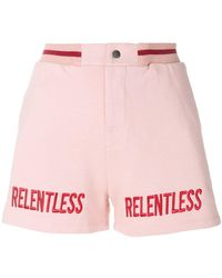 Zoe Karssen - Relentless Embroidery Shorts - Lyst