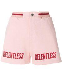 Zoe Karssen - Relentless Embroidery Shorts - Lyst