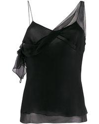 Dior 2000s シアー トップ - ブラック
