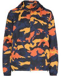Valentino Jas Met Camouflageprint - Oranje