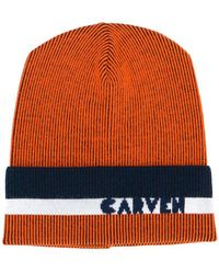 Carven - Ribbed Knit Beanie - Lyst