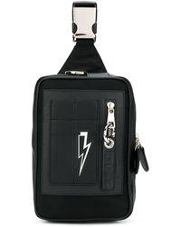 Neil Barrett Thunder Bolt Bag - Black