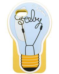 See By Chloé Lightbulb Iphone 7/8 ケース - ブルー