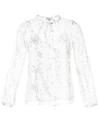 We Are Kindred Elle Floral-print Blouse - White