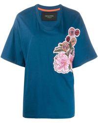Mr & Mrs Italy - T-shirt oversize à détails brodés - Lyst
