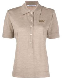 Agnona Cashmere Polo Shirt - Natural