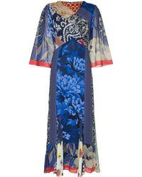 Etro - パッチワークドレス - Lyst