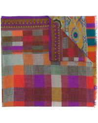 Etro Foulard con stampa - Multicolore