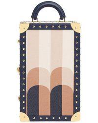 Fendi Pequin Large Travel Case - Blue