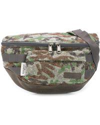 Eastpak Camouflage-print Sling Bag - Gray
