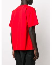 Rassvet (PACCBET) ルーズフィット Tシャツ - レッド
