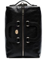 Gucci Bolso de viaje con placa del logo Morpheus - Negro