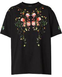 Burberry オーバーサイズ Tシャツ - ブラック