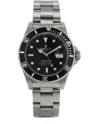 Rolex Наручные Часы Submariner Date Pre-owned 40 Мм 1988-го Года - Черный