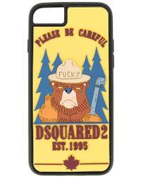 DSquared² - Bear Print Iphone 6/7 Plus Case - Lyst