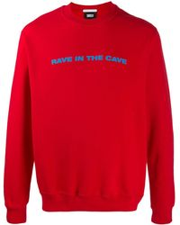 Societe Anonyme Rave In The Cave Sweatshirt - Red