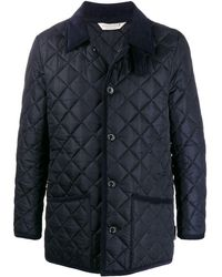 Mackintosh Waverly Navy Nylon Quilted Jacket gq-1001 - ブルー