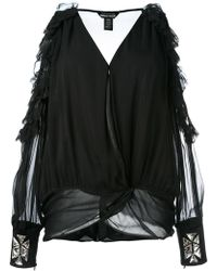 Thomas Wylde - Cold Shoulder Blouse - Lyst
