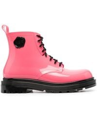 Viktor & Rolf Coturno Couture Boots - Pink