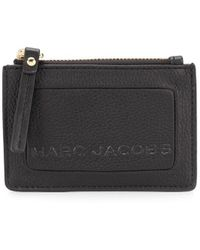 Marc Jacobs The Textured Box Top 財布 - ブラック