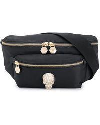 Philipp Plein Skull Belt Bag - Black