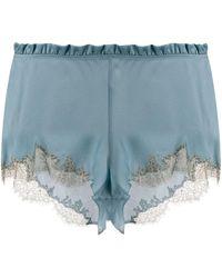 Carine Gilson Flottant Shorts - Blue