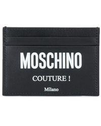 Moschino Картхолдер Couture! - Черный