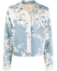 Hermès Veste en jean Cheval Surprise pre-owned - Bleu