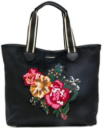 Twin Set - Floral Tote Bag - Lyst