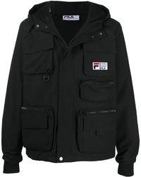 Fila マルチポケット ジャケット - ブラック