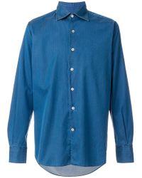 Canali   Plain Shirt   Lyst