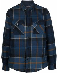Barbour Cannich チェック シャツ - ブルー