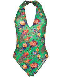 LaDoubleJ Pavone Verde Swimsuit - Зеленый