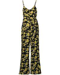 MICHAEL Michael Kors - Sleeveless Printed Jumpsuit - Lyst