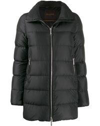Moorer パデッドジャケット - ブラック