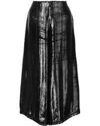 Yigal Azrouël | Liquid Velvet Culottes | Lyst