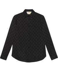 Gucci - Рубашка С Узором GG - Lyst