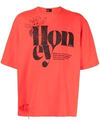 Kolor グラフィック Tシャツ - レッド