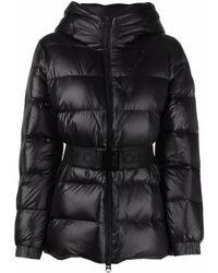 Calvin Klein ジップアップ ダウンジャケット - ブラック