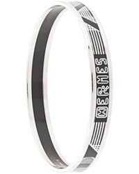 Hermès Браслет С Логотипом - Черный