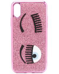 Chiara Ferragni Wink Iphone X/xs Case - Pink