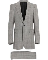 Burberry - Slim Fit Prince Of Wales Check Wool Cashmere Suit - Lyst