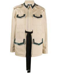Ports 1961 スパンコール ジャケット - ナチュラル