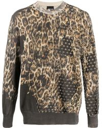 Just Cavalli Animal Print Pullover - Multicolour