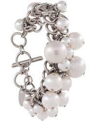 Lanvin - Pearl-embellished Bracelet - Lyst