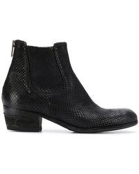 Pantanetti - Low Heel Chelsea Boots - Lyst