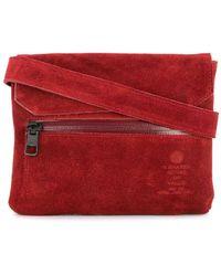 AS2OV Flap shoulder bag - Rouge