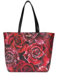 Just Cavalli - Rose Print Tote - Lyst