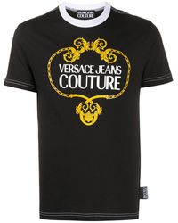 Versace Jeans - バロックプリント Tシャツ - Lyst