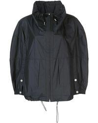 3.1 Phillip Lim Utility Parachute Sports Jacket - Black